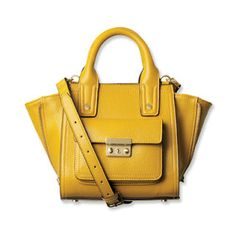 3.1 Phillip Lim for Target Yellow Mini Satchel with Gusset Giveaway