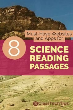 Looking for Science Reading Passages? These 6 websites and apps will take you to science short texts you can share with your students.