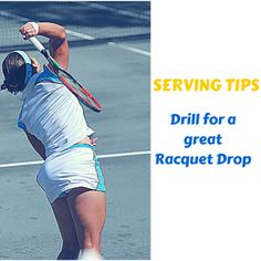 Serving Tips >> Best serving drill for a great racquet drop. Tennis Lessons, Tennis Tips, Tennis Serve, Sports Medicine, Drill, Baseball Cards, Sports, Drill Press, Hole Punch