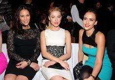 Paula Patton, Jessica Alba, Amber Heard