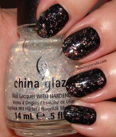 Luxe and Lush over Smoke and Ashes! Just did my nails in this!
