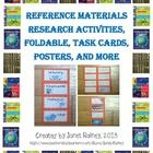 $This mega bundle comes with everything needed to teach your students about reference materials! You can download the five reference materials poste...