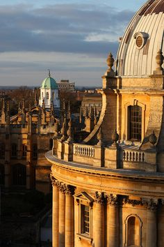 Oxford, England   Love the series on Masterpiece showing the Universities mainly it  seems