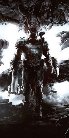 The Biggest Gaming Event of the World brings juicy details of the games that will keep us hooked to our screens. Our pick of the 10 Best Games of Gaming Wallpapers, Animes Wallpapers, Cool Wallpaper, Mobile Wallpaper, Doom Demons, Doom 2016, Doom Game, Arte Cyberpunk, Game Concept Art
