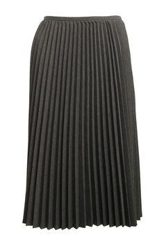 TRINA TURK Gray Pleated Skirt Size 2