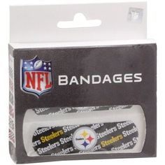 #Fanatics  Pittsburgh Steelers Game Day Bandages - oh yea, for my little one's boo boo's