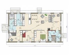Kastelli - Kaarna 129A/149A Laundry Room Bathroom, Bathroom Toilets, House Plans, Floor Plans, Flooring, Home, Design, Container, Ideas