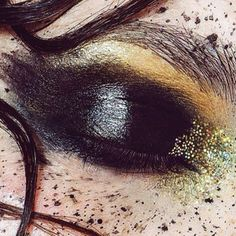 Marika is known for her vibrant and fanciful makeup style. Much of her beauty portfolio is strongly reminiscent of a watercolor art, revealing soft light colors and painterly handwork. More:   http://blog.furlesscosmetics.com/marika-dauteuil/
