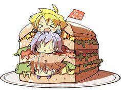 Miwa, Aichi, and Kai (Cardfight!! Vanguard)