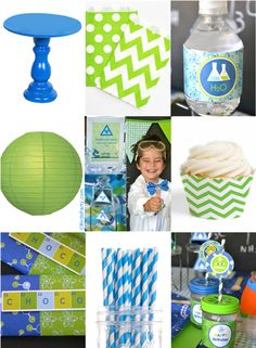 Kids Party Ideas: A Mad Scientist Science Birthday - DIY decorations, printables, food and party favors to inspire your celebrations! Birthday Party Design, Boy Birthday Parties, Birthday Fun, Birthday Ideas, Kid Parties, Birthday Stuff, Mad Science Party, Mad Scientist Party, I Party
