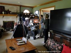 Heartspun Quilts ~ Pam Buda: Behind The Scenes of Photo Shoot At My Home-Part One
