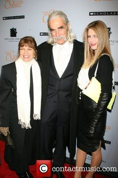 Katharine Ross, Sam Elliott and Cleo Rose Elliott...