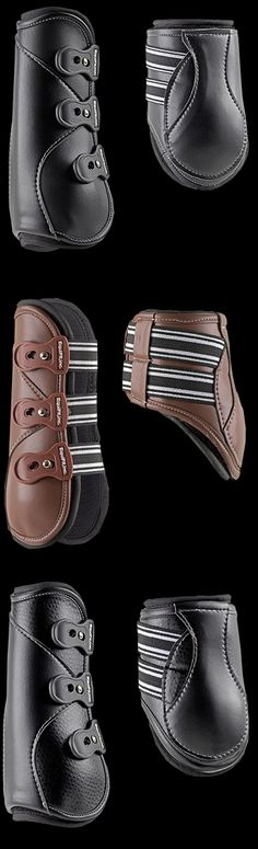 I want the brown ones!!  Equifit D-Teq boots I have the backs now I want the fronts!!!
