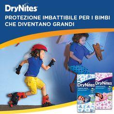 Mutandine assorbenti DryNites®: la serenità di una notte asciutta.