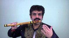 Carnatic Flute Fingering by Flute Raman