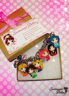 Acessórios de Biscuit : Sailor Moon, Pokémon, Adventure Time e Disney