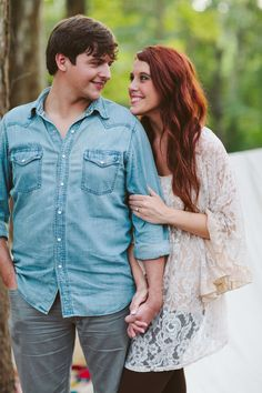 Bohemian engagement photos Stacy + Brandon  Photo By Daniel & Steph Photography and Film #engagementphotography #boho #bohemian Stacy's clothes: The Abbey Salon & Spa