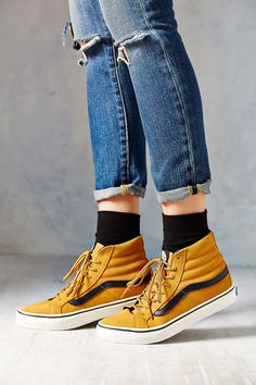 Vans Slim Hiker Women's from Urban Outfitters. Shop more products from Urban Outfitters on Wanelo. Sock Shoes, Cute Shoes, Me Too Shoes, Women's Shoes, Shoes Sneakers, Shoes 2017, Sneakers Women, Prom Shoes, Trendy Shoes