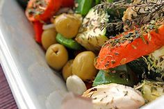 Oven Roasted Vegetables (South Beach)