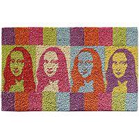 """Mona Lisa- the new """"welcome"""" door mat"""
