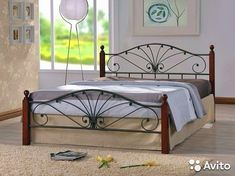 Select fabric that lures you in to make something simple. Take a look at pattern books for ideas and heed each instruction. Indian Furniture, Iron Furniture, Unique Furniture, Bedroom Furniture, Furniture Design, Wrought Iron Bed Frames, Steel Bed Frame, Metal Beds, Sofa Design