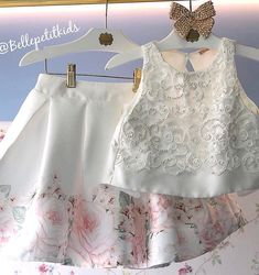 Vestido de princesa rodado, bordado e com uma estampa impecável! 😱✨🌸 _______________________________________________________ • VALO Girls Dresses Sewing, Dresses Kids Girl, Cute Girl Outfits, Kids Outfits, Kids Dress Wear, Kids Gown, African Dresses For Kids, Dress Anak, Baby Dress Design