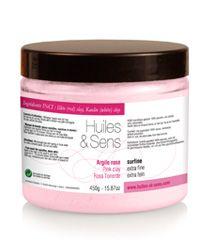 Argile rose de chez Huiles & Sens Aromatherapie (http://www.huiles-et-sens.com/Argile-rose/)