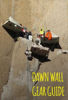 """Yosemite's Dawn Wall: 915 meters (~3,000 ft) tall, 32 pitches, 19 days.   """"My essential gear? Just put ibuprofen and coffee, and that's the end of the article."""" - Kevin Jorgeson"""