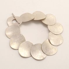 Patina Gallery Bracelet, Sterling Silver, Xips, Medium Artist Enric Majoral