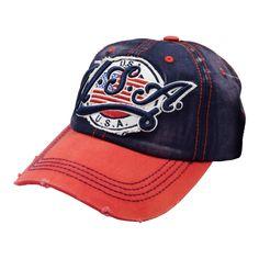 7249a8f7ed331 USA Flag Pre Distressed Vintage Baseball Cap. Vintage Baseball CapsBaseball  HatsUsa ...