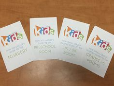 When people sign up to volunteer in our Kids Rooms, we want to equip them with all the info they need to get started, and do their job well. It can be a little overwhelming for a new volunteer to …