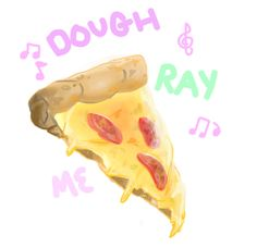 Help idk how to draw pepperonis// this is a bad pizza work ●WHY I LIKE● This pizza looks so friggin cheesy and good. The Artist did a wonderful job with this. -@Jodi Taylor Art Studio