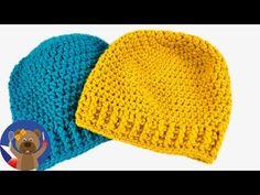 DIY zimní čepice - návod, jak si sami upletete čepici - 50-54 cm - YouTube