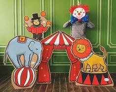 OK baby! Картон для фото Цирковые животные