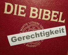 Lies und regiere! - Gerechtigkeitsbibeln für den Bundestag. Blogeintrag vom 31. Januar 2014