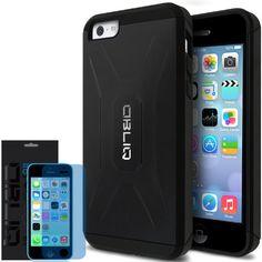 iPhone 5C Case, Obliq [Heavy Duty] iPhone 5C Case [Xtreme Pro] [Black] w/ HD Screen Protector - Premium Slim Fit Dual Layer Hard Case - Verizon, AT&T, Sprint, T-Mobile, International, and Unlocked - Case for Apple iPhone 5C Lite 2013 Model Obliq http://www.amazon.com/dp/B00E7WG5CO/ref=cm_sw_r_pi_dp_-ASeub0J5DVTS