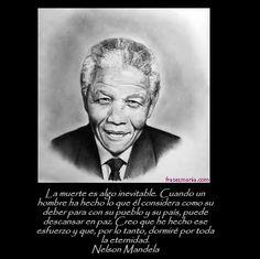 Descansa en paz Nelson Mandela