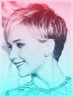 This my first effect in #PicsArt . Jennifer Lawrence.