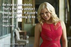 Inspirational and Motivational Quote from Broadway Actress Megan Hilty Theatre Nerds, Music Theater, Broadway Theatre, Theater Quotes, Megan Hilty, Broadway Quotes, Mottos, Cool Words, Beautiful People