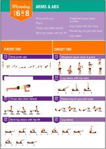 Bikini Body Guide: Exercise & Training Plan par Bikini Body Company Pty Ltd Kayla Itsines Workout Plan, Kayla Itsines Diet, Kayla Workout, Workout Board, Bikini Body Guide, Total Body, Bbg Workouts, Bikini Body Inspiration, Fitness Inspiration