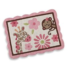 Crib Fashion Bedding > Carter's® Jungle Jill Accent Rug from Buy Buy Baby