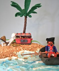 pirate party cake