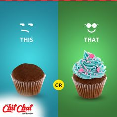Enjoy the delicious cupcakes at Chit Chat Food  http://www.chitchatindia.net/ | 93853 88800  #ChitChat #ChitChatFood #IceCream #Cakes #Cookies #Pizza #Puffs #Cupcakes