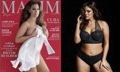 Fãs reclamam que revista emagreceu modelo plus size em capa de revista