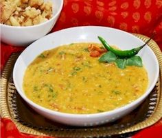 Tridoshic dal is an Ayurvedic preparation that is beneficial for all doshas and keeps them in check. It cleanses the body of ama or toxins, and is very good for digestion, as well as a light food to be taken if one is suffering from diarrhoea. It pacifies Kapha and Pitta doshas and increases Vata.