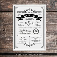 Reception Only Invitation Wording | Wedding Help & Tips | Pinterest ...