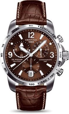Certina Watch DS Podium Big Size Chrono GMT Quartz #bezel-fixed #bracelet-strap-leather #brand-certina #case-material-steel #case-width-42mm #chronograph-yes #date-yes #delivery-timescale-7-10-days #dial-colour-brown #gender-mens #gmt-yes #luxury #movement-quartz-battery #official-stockist-for-certina-watches #packaging-certina-watch-packaging #style-sports #subcat-certina-gmt #subcat-ds-podium #supplier-model-no-c001-639-16-297-00 #warranty-certina-official-2-year-guarantee…