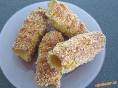 sm - trdelníky s postupom Sweet Desserts, Sweet Recipes, Cookie Recipes, Dessert Recipes, Eastern European Recipes, Czech Recipes, Healthy Cake, Sweet Cakes, Sweet And Salty