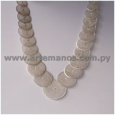Nanduti  Silver Necklace, Artemanos S.A.
