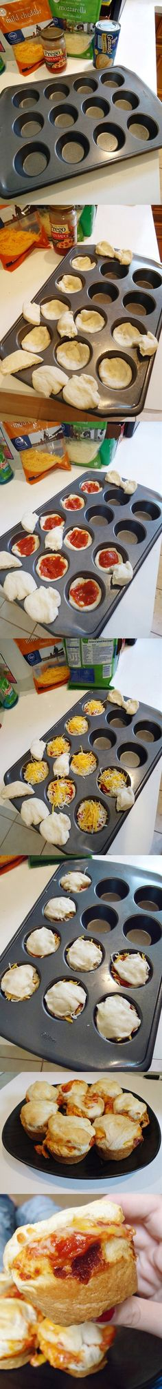 Pizza Cupcakes – How Cool is That